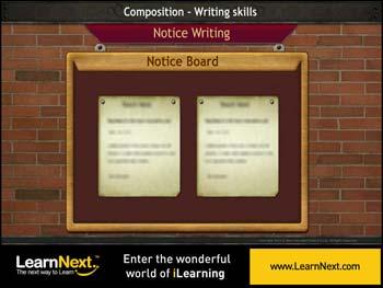 Icse class 8 english writing skills notice writing format notice writing format spiritdancerdesigns Choice Image